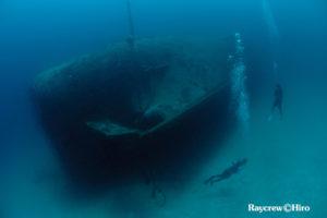 Diving in Majuro