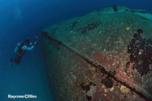 Wreck diving in Majuro